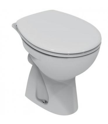 Connection, clamp and plate for cistern Geberit