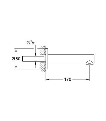 Module self-supportsng for Wall mounted toilet with cistern gd2, Grohe Rapid SL