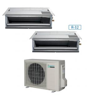 Système canalizzabile dualsplit gazR32, Daikin collection F