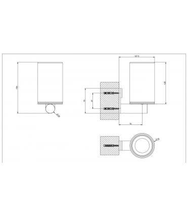 Spacer shower systems Grohe Rainshower F-collections square arms