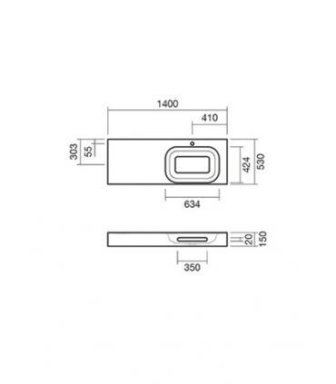 Cassetta incasso per wc, Grohe GD2 art.38661000