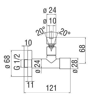 Module for accessorieses installation, altezz112cm, Geberit Duofix, plasterboard