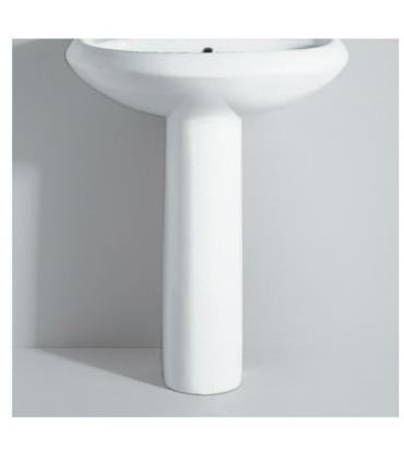 Column Washbasin, ceramic Flaminia collection Metro