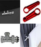 Radiators and heated towel rails accessories