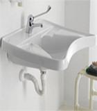 Washbasins for public places