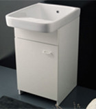 Wash tub piece of furniture