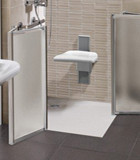 Shower trays for public places