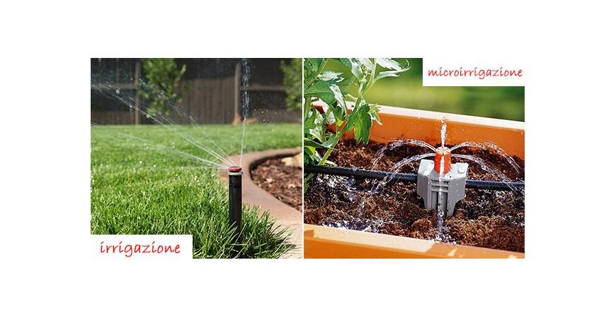 L'impianto di irrigazione fai da te