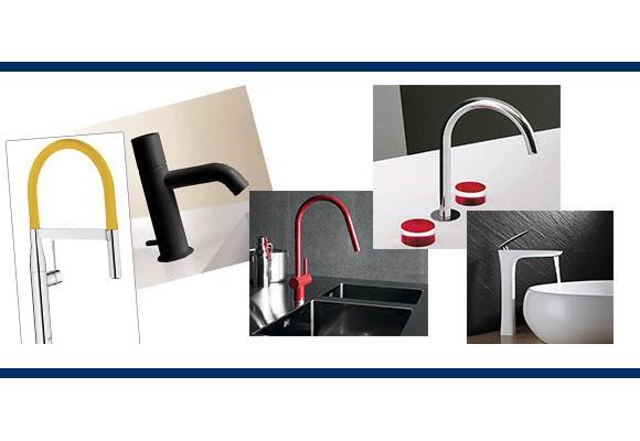 Speciale colorato: i rubinetti