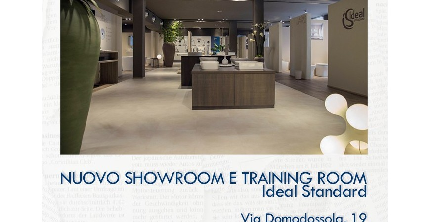 Il nuovo Show Room Ideal Standard