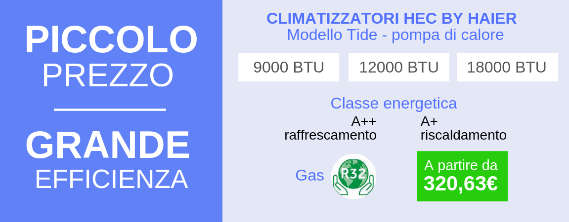 Climatizzatore HEC by Haier